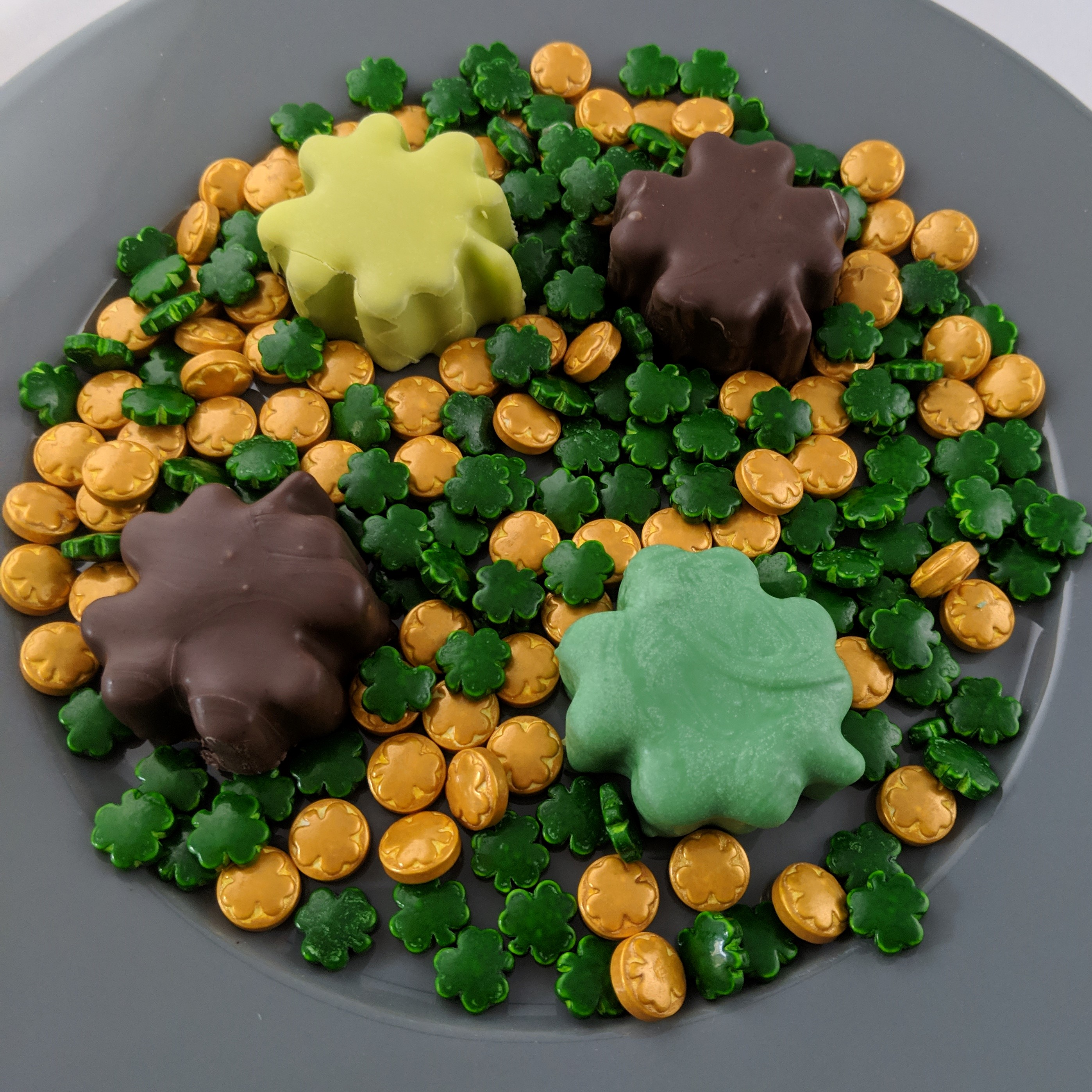Chocolate Covered Gummies, Happy Saint Patrick's Day!