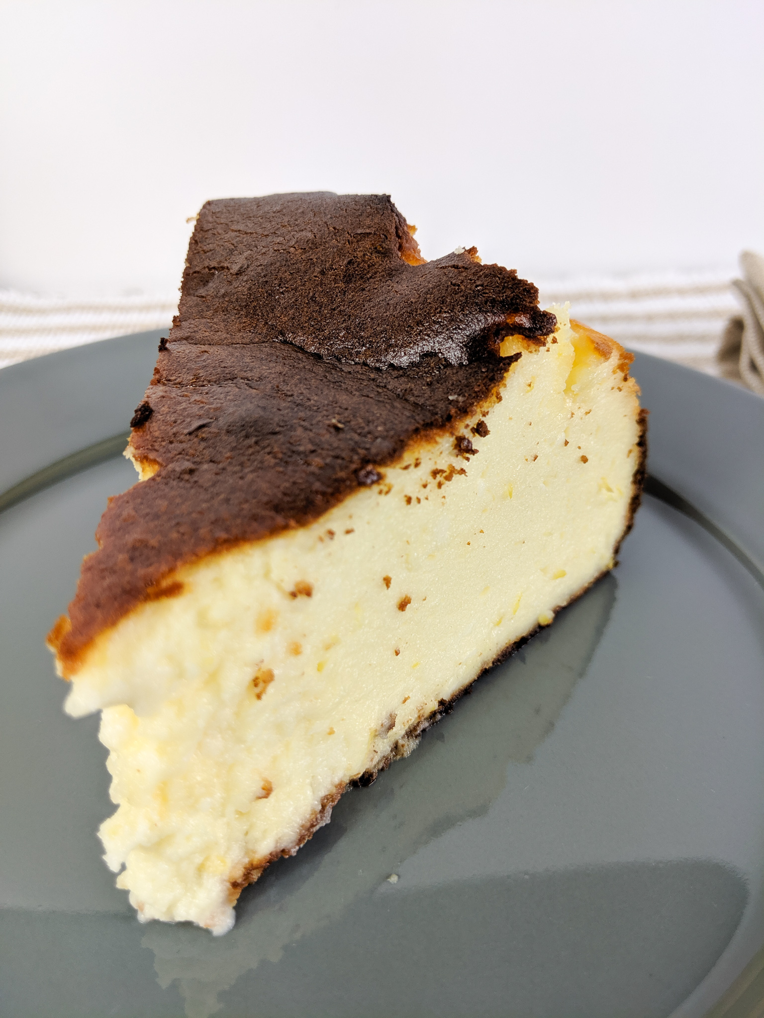 Basque Lemon Cheesecake