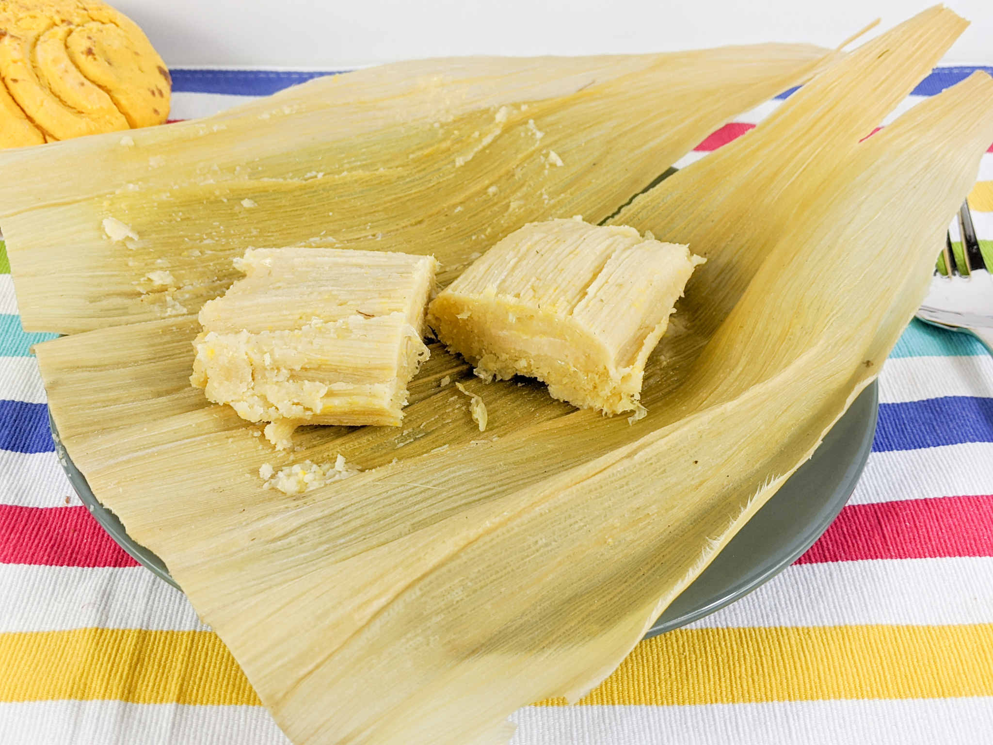 Sweet Ayacas or Sweet Corn Tamales